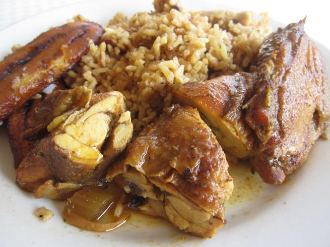 Belizean stew chicken - yum!